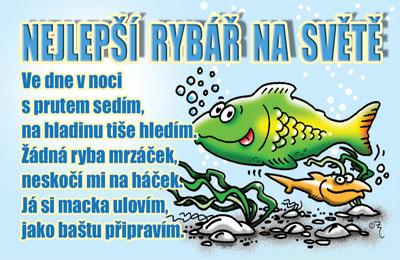 přání k narozeninám pro rybáře Vtipné přání   Rybář | Zajímavé dárky skladem. Expedice do 24h. přání k narozeninám pro rybáře